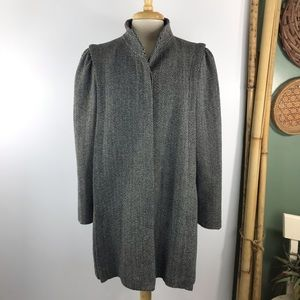 Vintage Central Park CPI Womens Tweed Coat Sz M/L